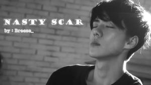 nasty scar